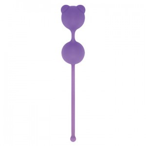 PALLINE PUSSYNUT DOUBLE SILICONE PURPLE  50